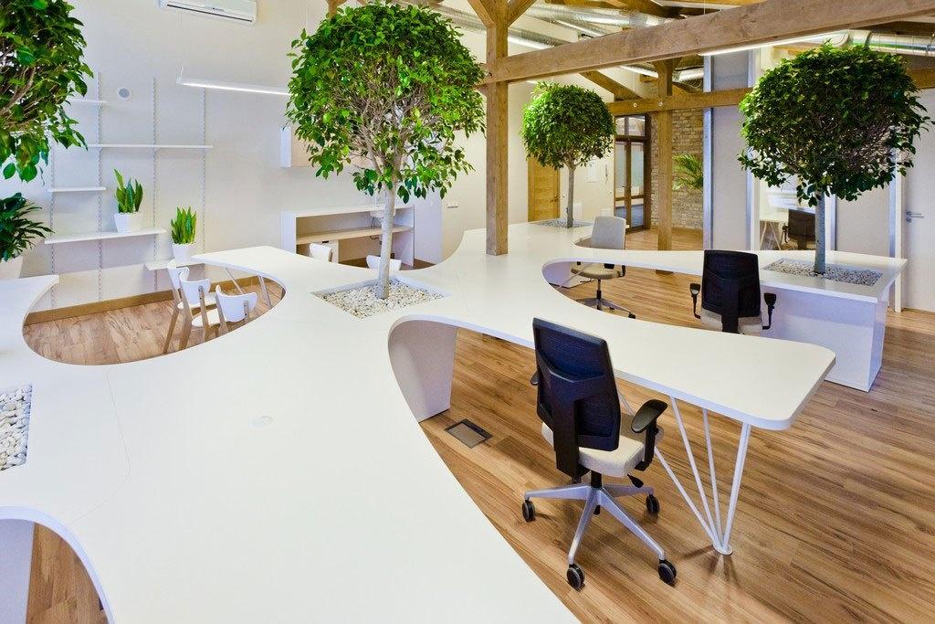 Bí quyết trang trí nội thất ấn tượng giúp thiết kế văn phòng cho thuê hút khách