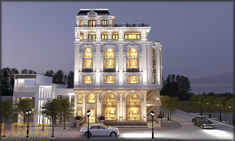 Mặt tiền Thiết kế văn phòng cho thuê kết hợp thẩm mỹ viện đẹp tại đà nẵng - 02