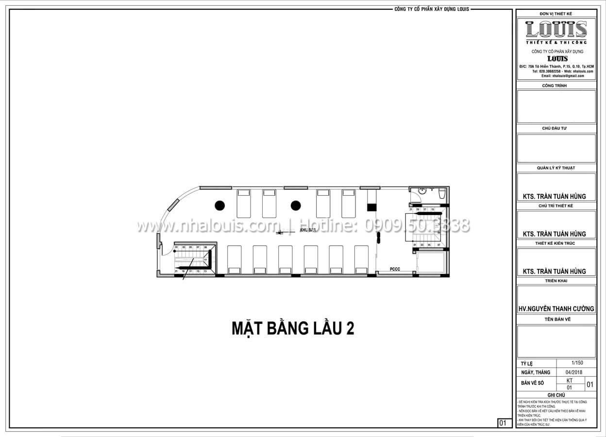 Mặt bằng tầng 2 Thiết kế văn phòng cho thuê sang trọng và đẳng cấp tại Đà Nẵng - 13