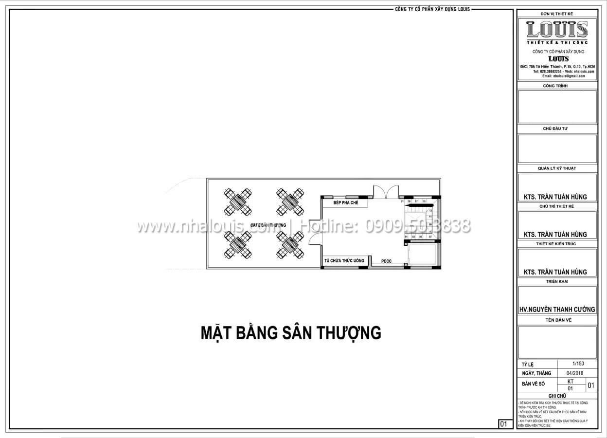 Mặt bằng tầng thượng Thiết kế văn phòng cho thuê sang trọng và đẳng cấp tại Đà Nẵng - 17