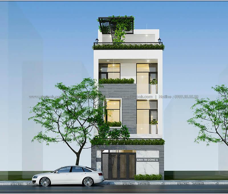 Top 3 thiết kế cho kế hoạch xây nhà ống 3 tầng phong cách hiện đại