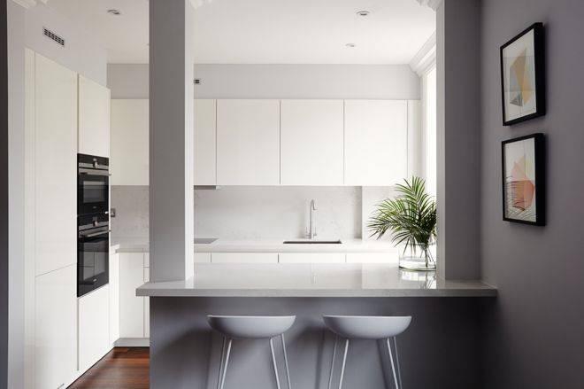 9 mẫu bếp nhỏ nhưng chất dành riêng cho thiết kế nhà 4x10