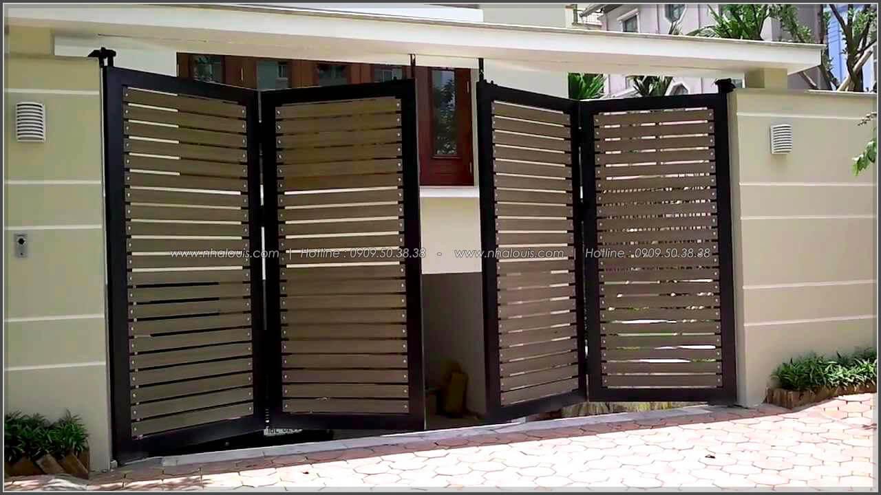 Lắp đặt và sơn hoàn thiện cửa cổng thép hộp Báo Giá Thi Công Hoàn Thiện - 07