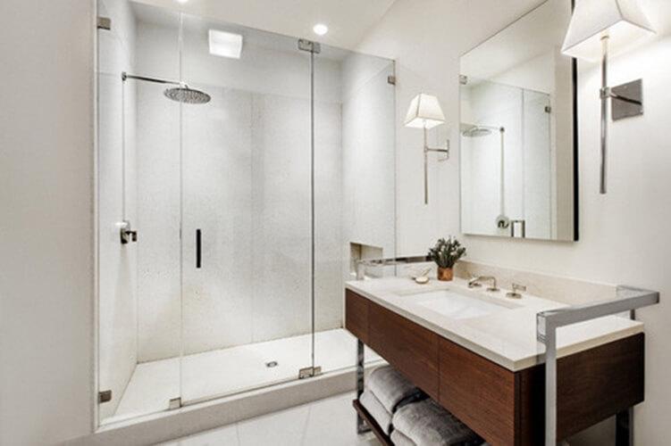 Vách ngăn phòng tắm kính cường lực và phụ kiện INOX 304 Báo Giá Thi Công Hoàn Thiện - 39