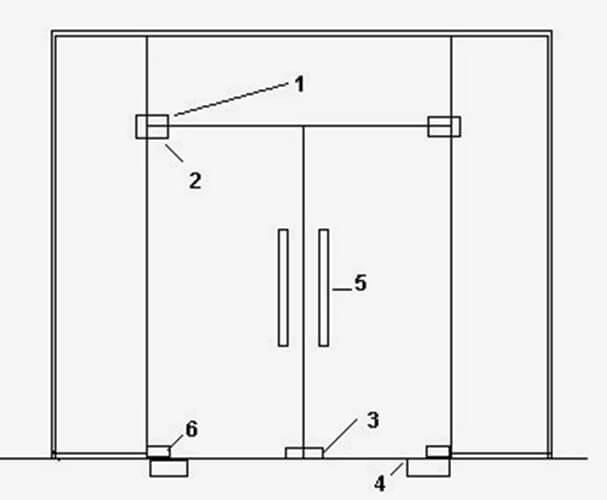 Cửa kính bản lề sàn và vách kính cường lực phụ kiện INOX 304 Báo Giá Thi Công Hoàn Thiện - 40