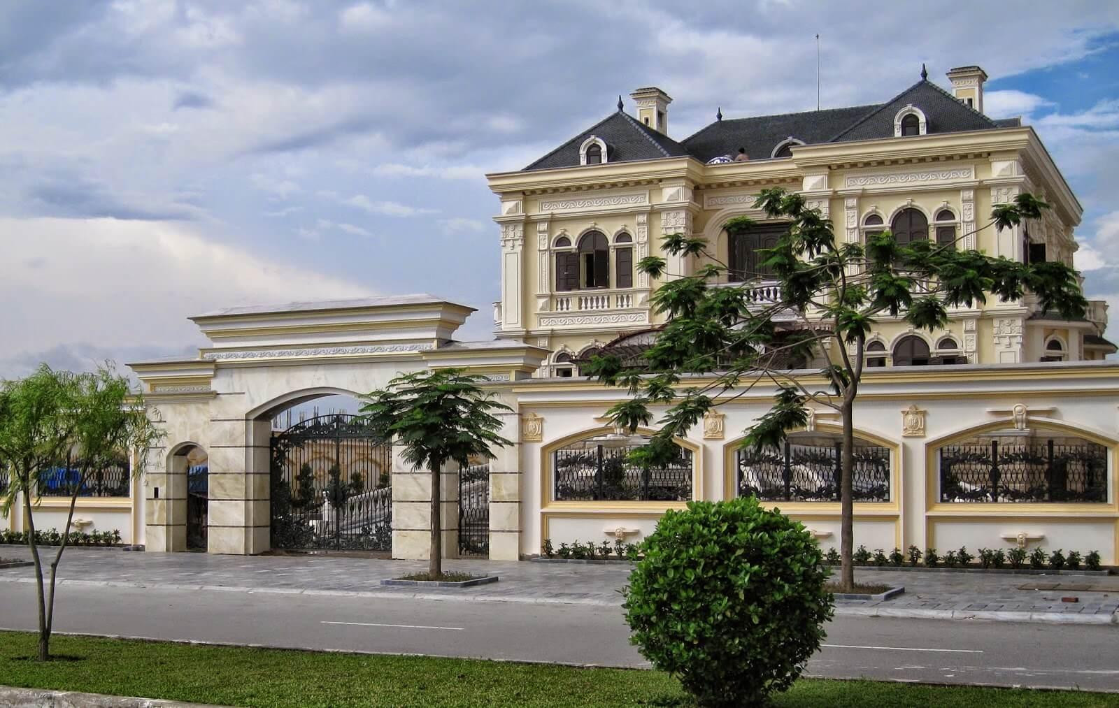 Biệt thự Châu Âu cổ điển nét đẹp không thể bỏ qua