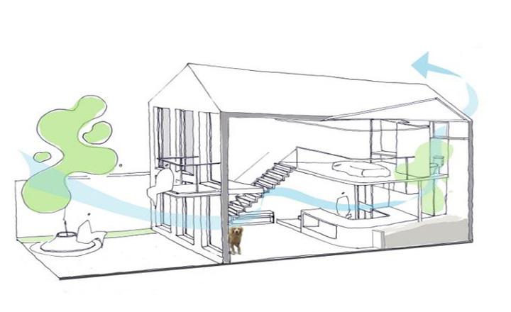Dù là mẫu nhà 2 tầng đơn giản cũng đừng tính chuyện mượn thiết kế