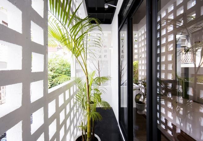 Giải pháp kết nối thiên nhiên cho nhà ống 2 tầng 3 phòng ngủ