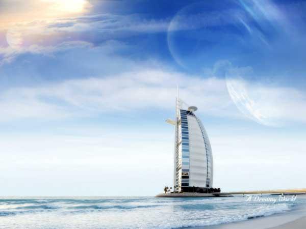 Kiến trúc độc đáo của khách sạn 7 sao đầu tiên của thế giới Burj Al Arab - 02
