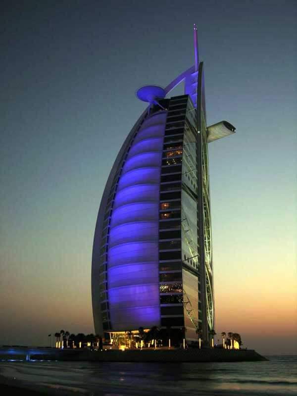 Kiến trúc độc đáo của khách sạn 7 sao đầu tiên của thế giới Burj Al Arab - 06