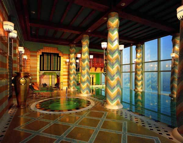 Kiến trúc độc đáo của khách sạn 7 sao đầu tiên của thế giới Burj Al Arab - 16