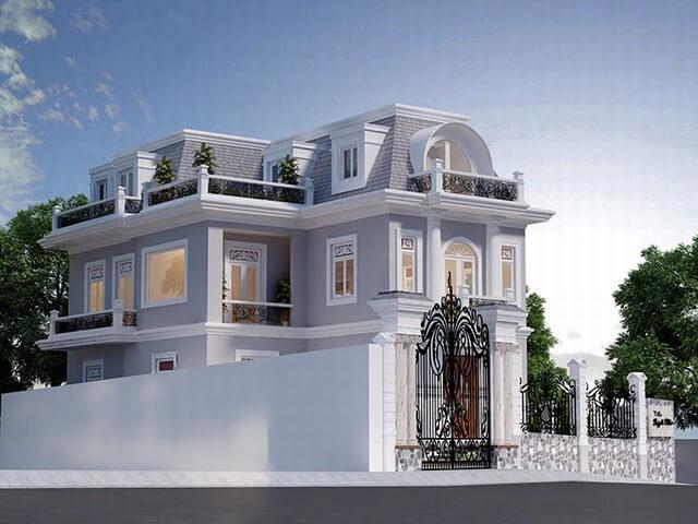 Lưu ý khi thiết kế mẫu nhà biệt thự 2 tầng phong cách cổ điển