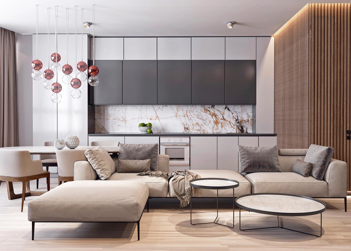 Lưu ý khi thiết kế thi công nội thất chung cư 1