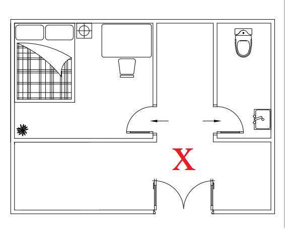 Lưu ý về phong thủy cho cửa ra vào nhà ống mặt tiền 5m
