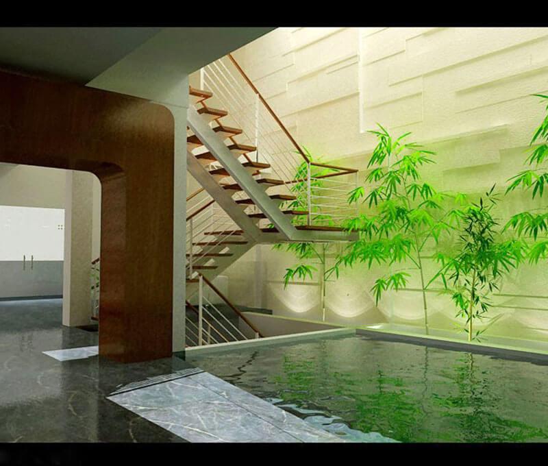 Nguyên tắc thiết kế giếng trời cho nhà 5 tầng hiện đại