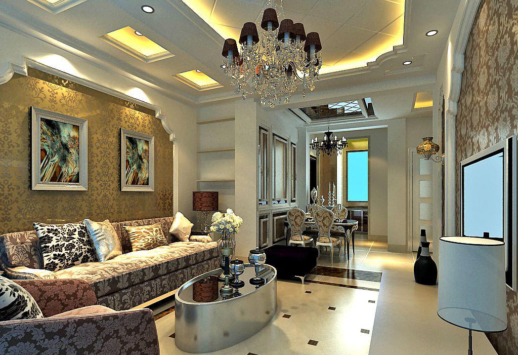 phòng khách phong cách cổ điển phong cách mỹ