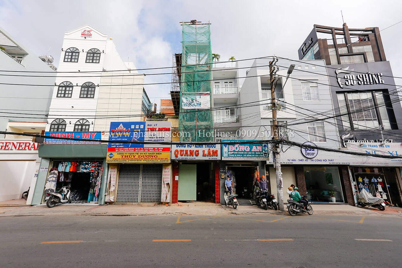 Hoàn thành dự án thi công nhà ống mặt tiền 5m đẹp ở Tân Bình