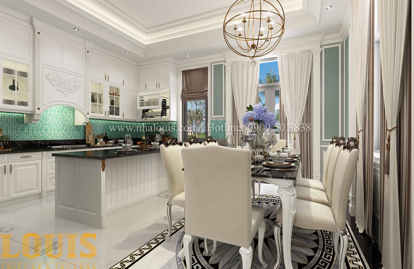 Bếp và phòng ăn Bếp và phòng ăn Thiết kế biệt thự 3 tầng đẹp có sân vườn ở miền quê Đồng Nai - 19