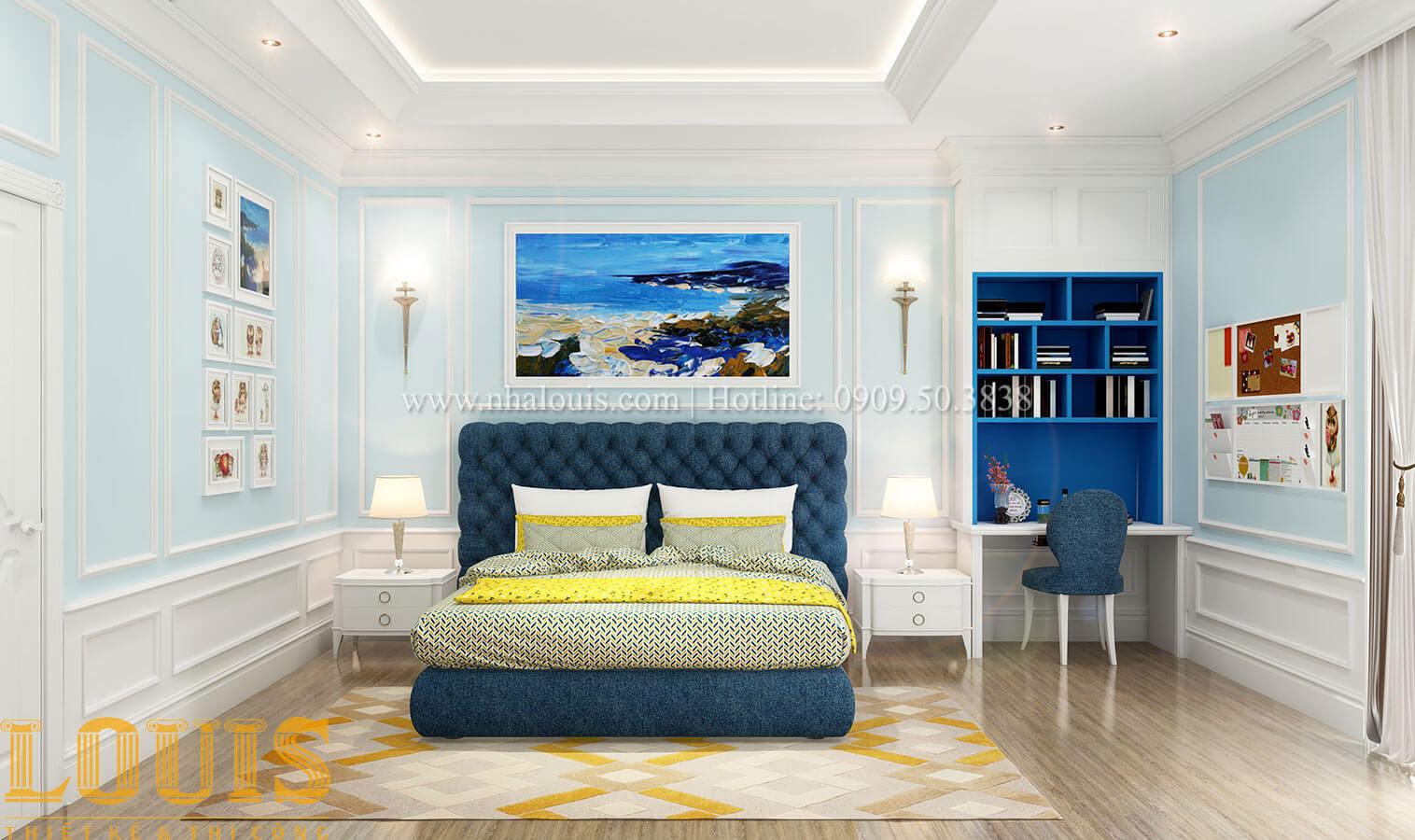 Phòng ngủ Thiết kế biệt thự 3 tầng đẹp có sân vườn ở miền quê Đồng Nai - 24