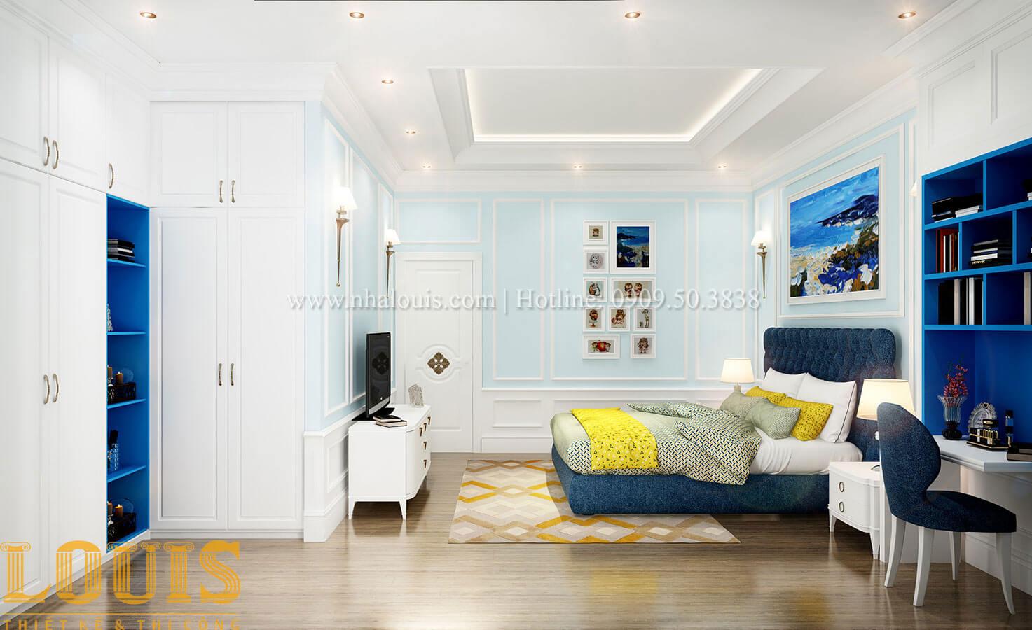 Phòng ngủ Thiết kế biệt thự 3 tầng đẹp có sân vườn ở miền quê Đồng Nai - 25