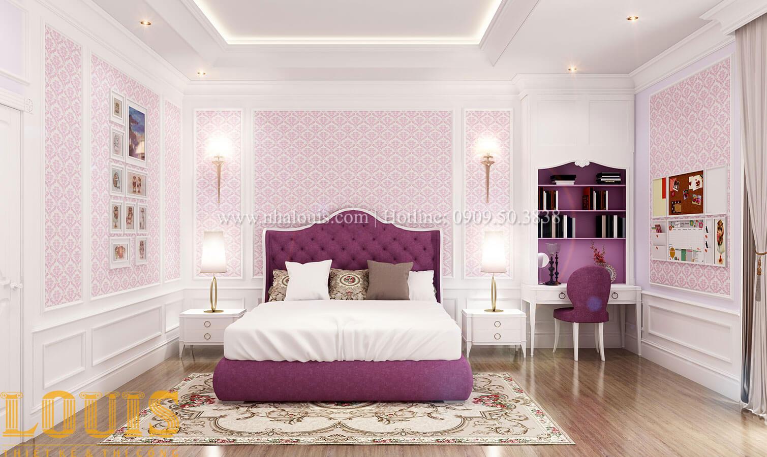 Phòng ngủ Thiết kế biệt thự 3 tầng đẹp có sân vườn ở miền quê Đồng Nai - 26