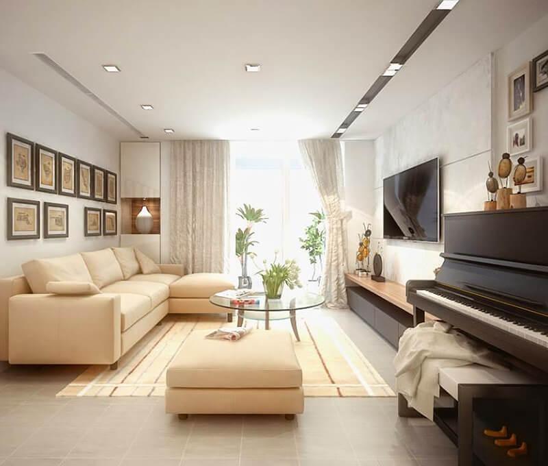 Những sai lầm bố trí nội thất trong thiết kế căn hộ chung cư 3 phòng ngủ