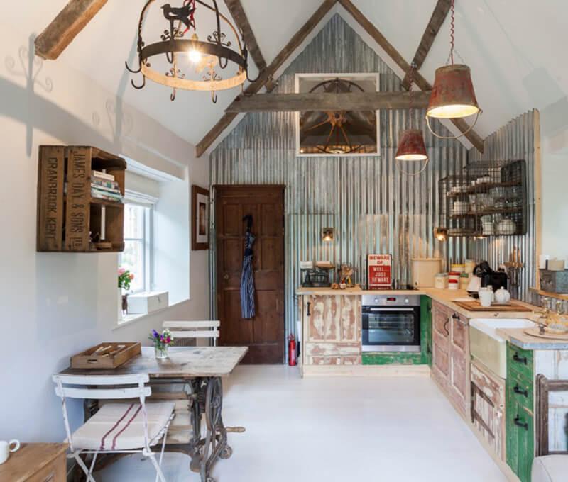 Thiết kế nhà đẹp cấp 4 theo phong cách Vintage kiểu Anh
