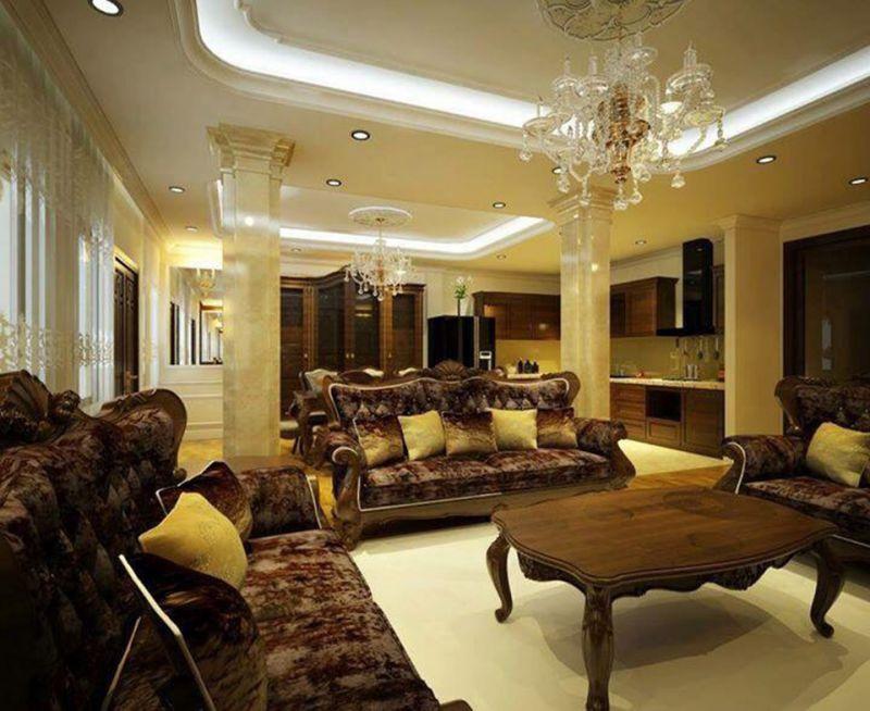 Thiết kế nội thất biệt thự tân cổ điển và những điều không thể bỏ qua