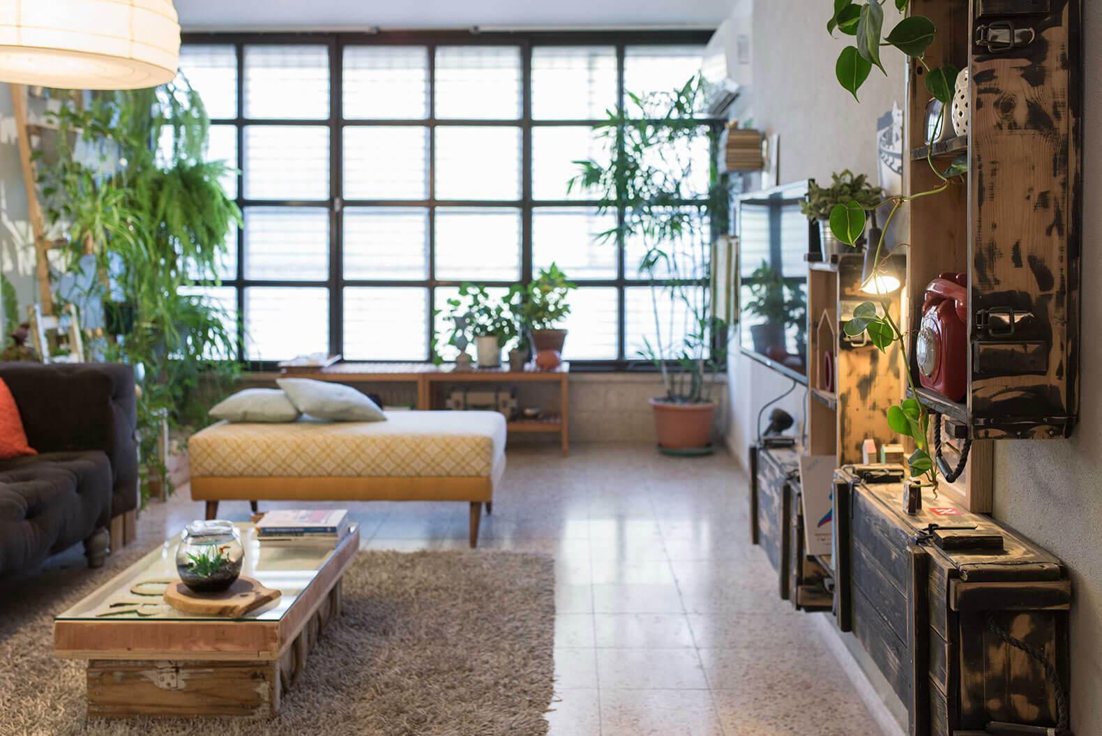 Sống gần với thiên nhiên nhờ thiết kế nội thất nhà ống phong cách Eco