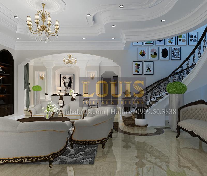 đặc điểm nổi bật của thiết kế nội thất tân cổ điển