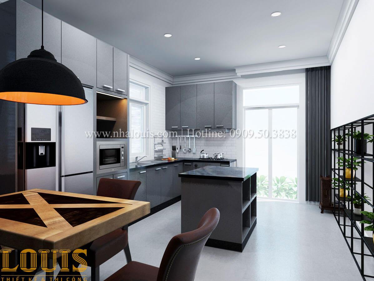 Bếp Cải tạo nhà biệt thự phố cập nhật theo xu hướng mới tại Quận 10 - 13