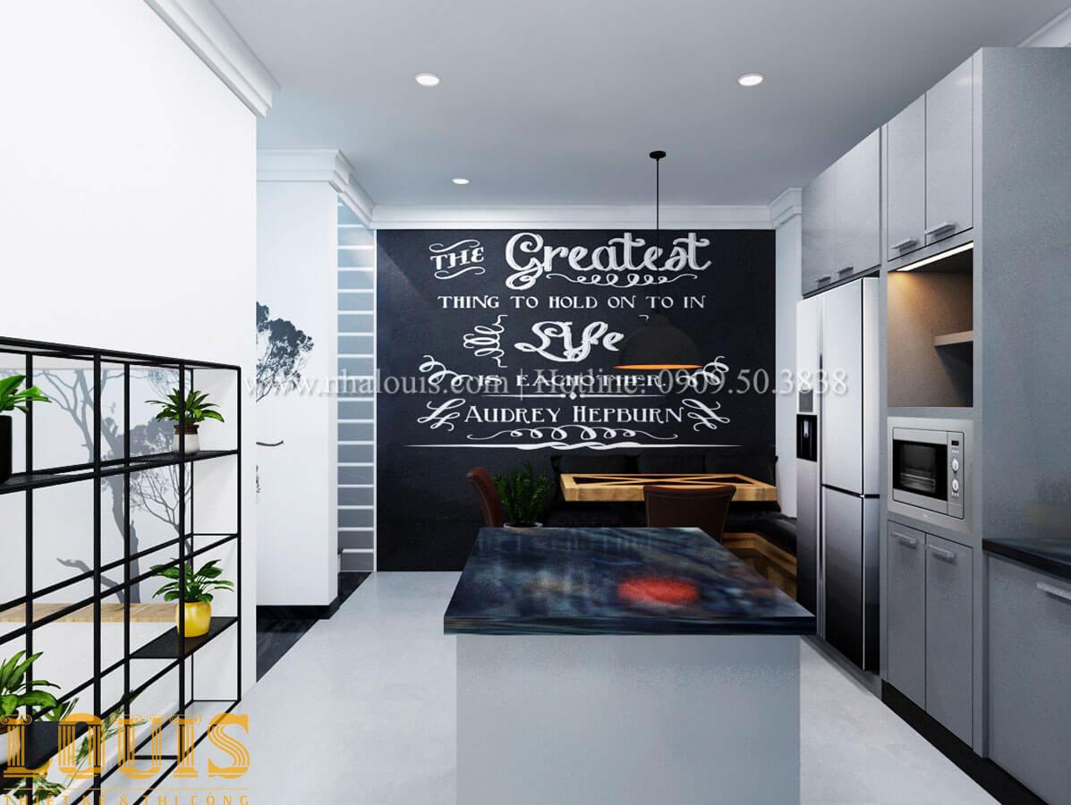 Bếp Cải tạo nhà biệt thự phố cập nhật theo xu hướng mới tại Quận 10 - 14