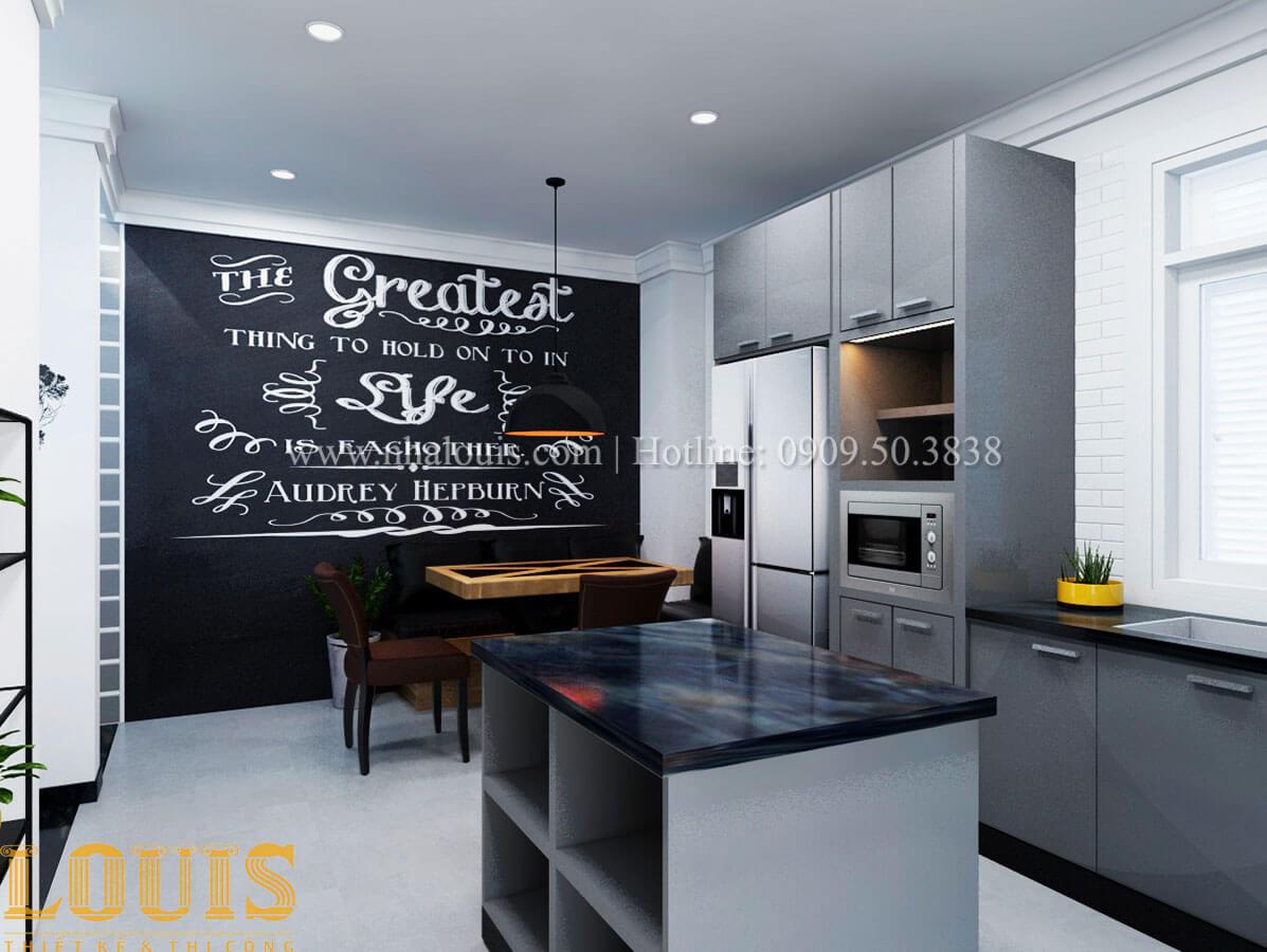 Bếp Cải tạo nhà biệt thự phố cập nhật theo xu hướng mới tại Quận 10 - 15