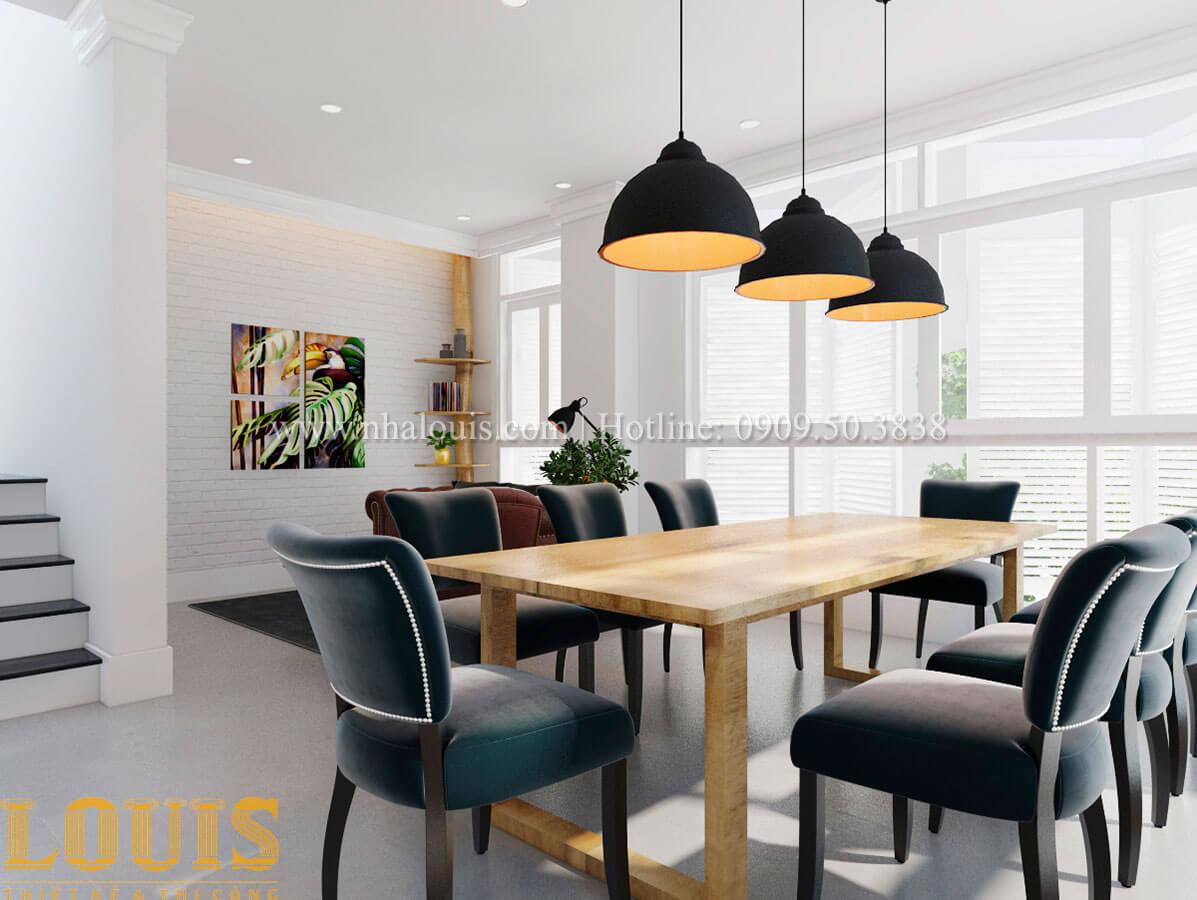 Phòng khách và phòng ăn Cải tạo nhà biệt thự phố cập nhật theo xu hướng mới tại Quận 10 - 17