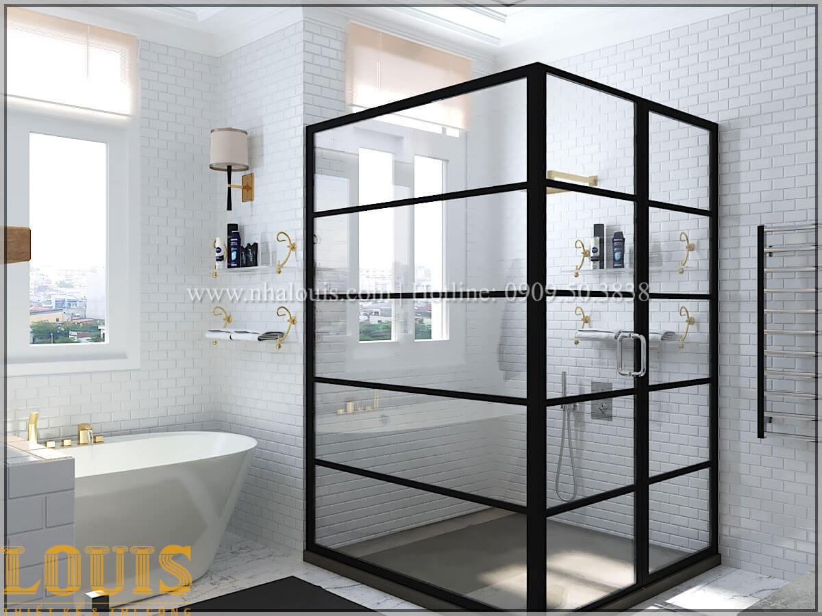 Phòng tắm và WC Cải tạo nhà biệt thự phố cập nhật theo xu hướng mới tại Quận 10 - 23