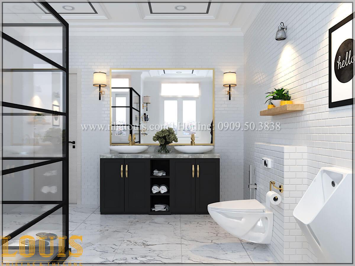 Phòng tắm và WC Cải tạo nhà biệt thự phố cập nhật theo xu hướng mới tại Quận 10 - 24