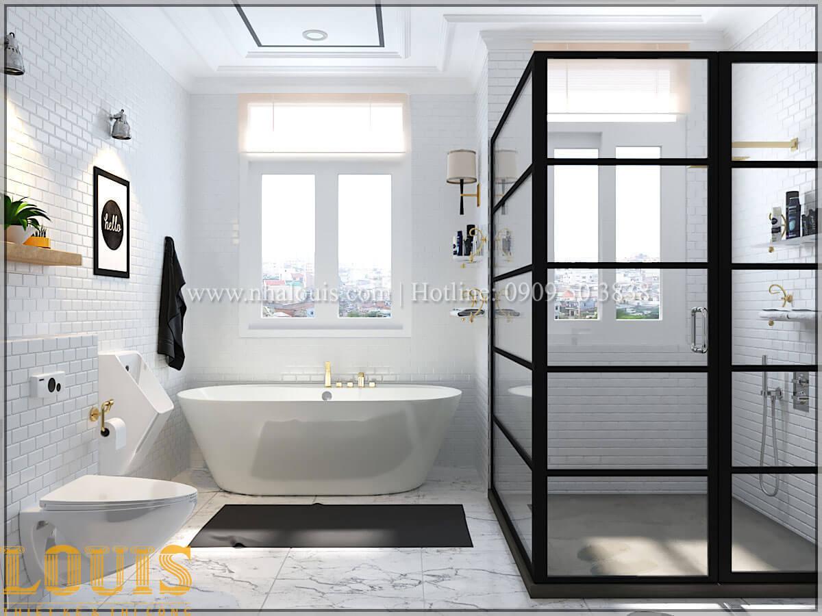 Phòng tắm và WC Cải tạo nhà biệt thự phố cập nhật theo xu hướng mới tại Quận 10 - 25
