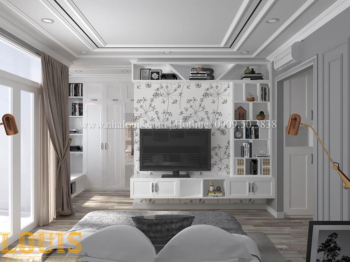 Phòng ngủ master Cải tạo nhà biệt thự phố cập nhật theo xu hướng mới tại Quận 10 - 27