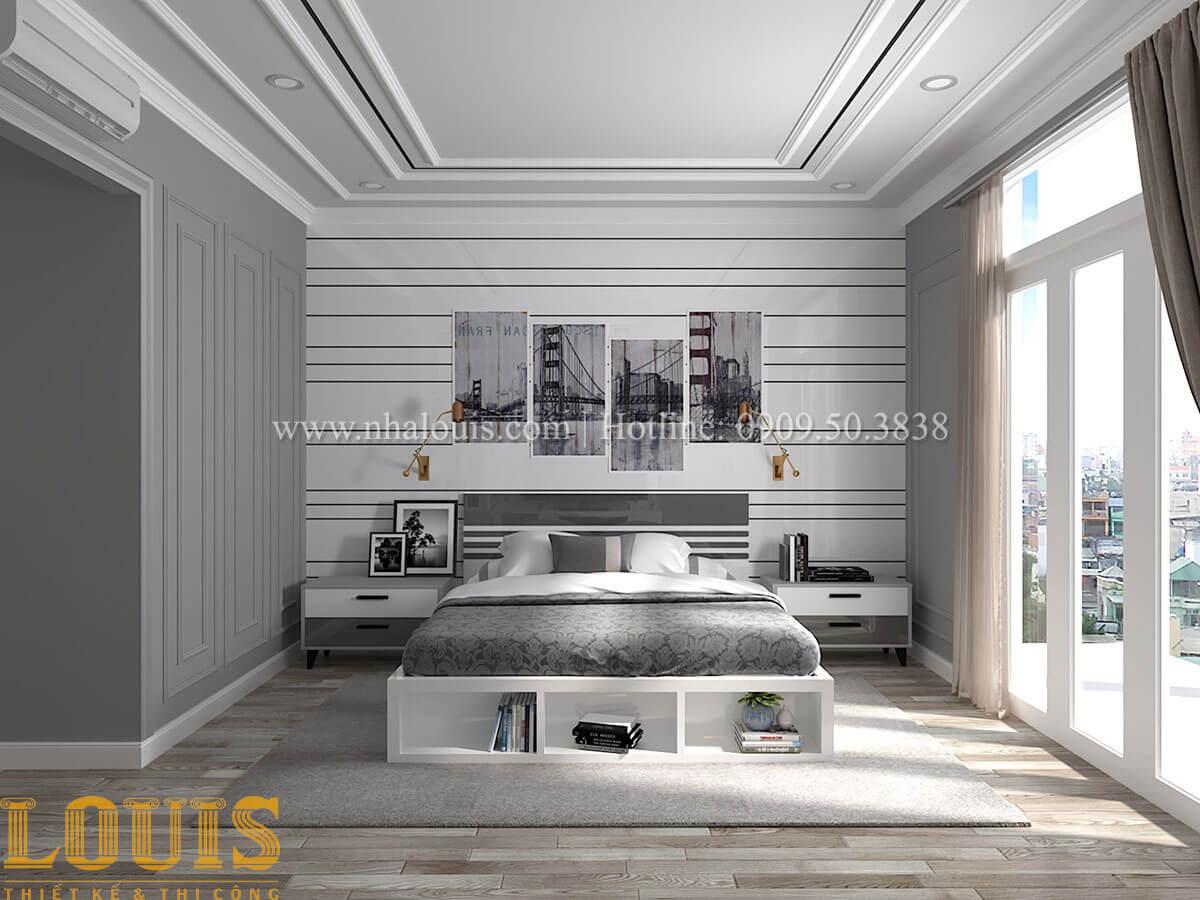 Phòng ngủ master Cải tạo nhà biệt thự phố cập nhật theo xu hướng mới tại Quận 10 - 28