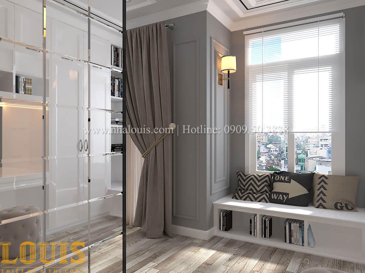 Phòng ngủ master Cải tạo nhà biệt thự phố cập nhật theo xu hướng mới tại Quận 10 - 30
