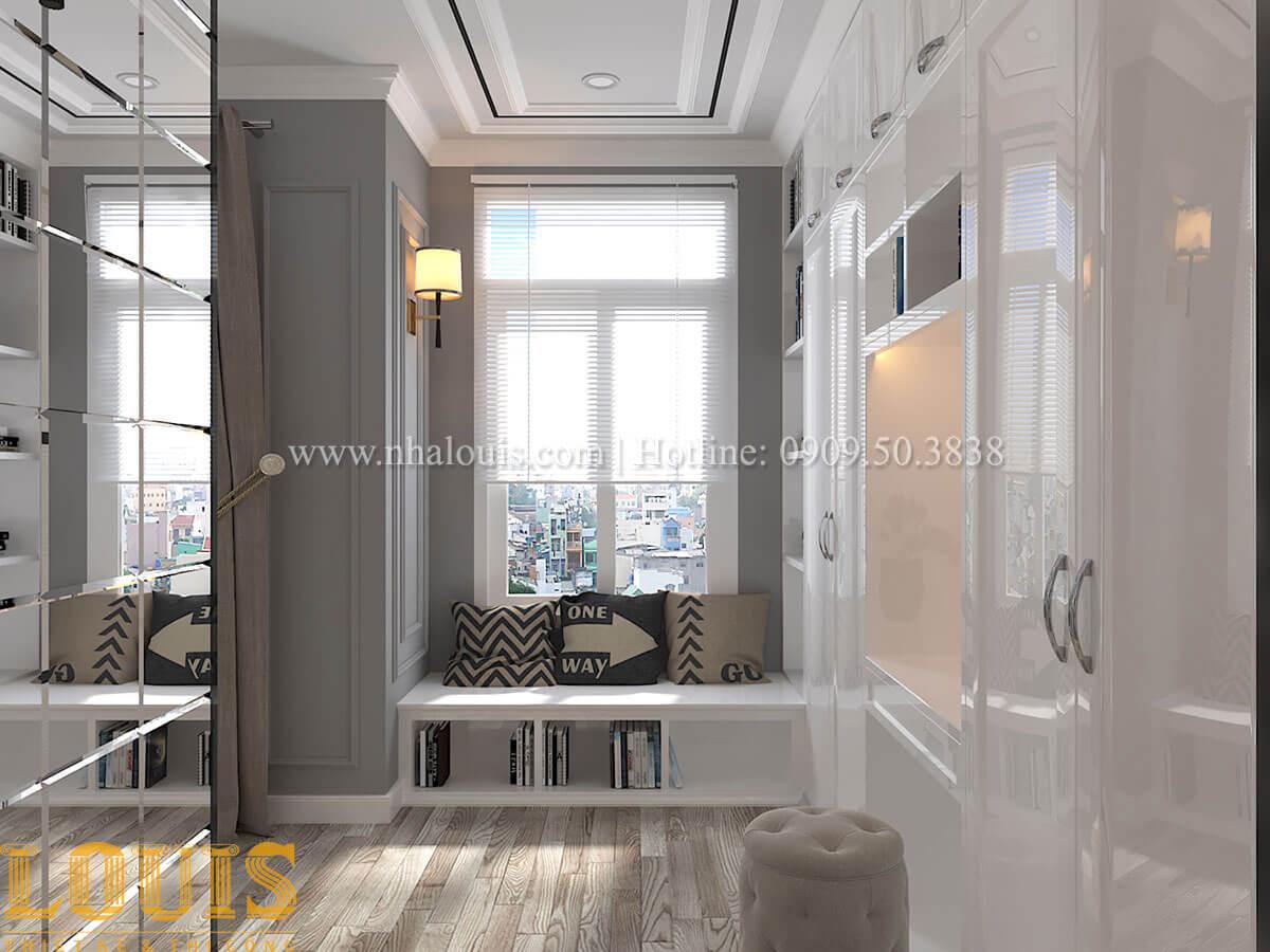 Phòng ngủ master Cải tạo nhà biệt thự phố cập nhật theo xu hướng mới tại Quận 10 - 32