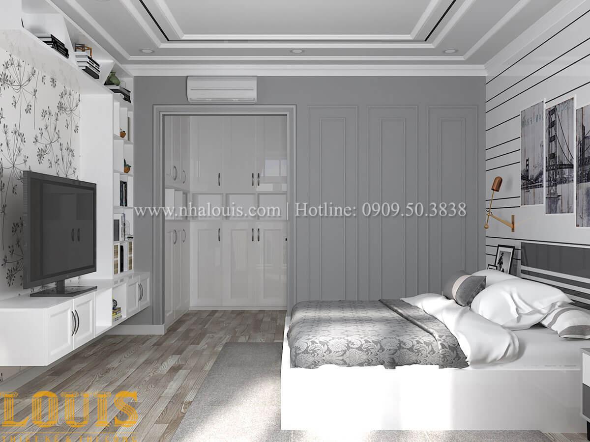 Phòng ngủ master Cải tạo nhà biệt thự phố cập nhật theo xu hướng mới tại Quận 10 - 33