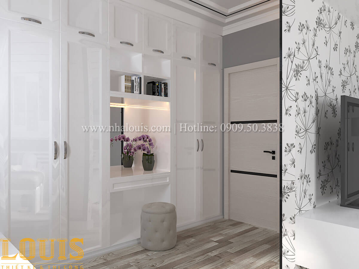 Phòng ngủ master Cải tạo nhà biệt thự phố cập nhật theo xu hướng mới tại Quận 10 - 34