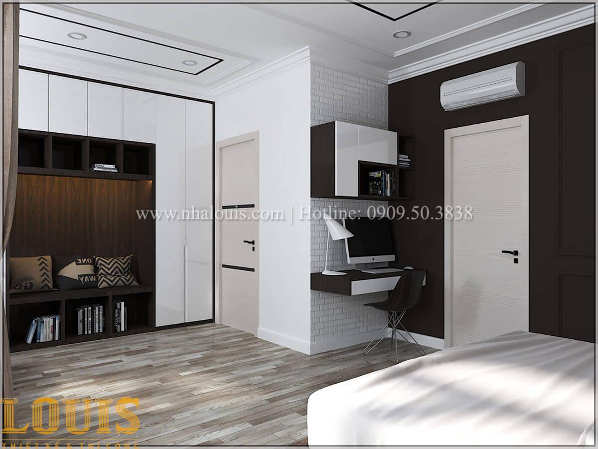 Phòng ngủ con trai Cải tạo nhà biệt thự phố cập nhật theo xu hướng mới tại Quận 10 - 41