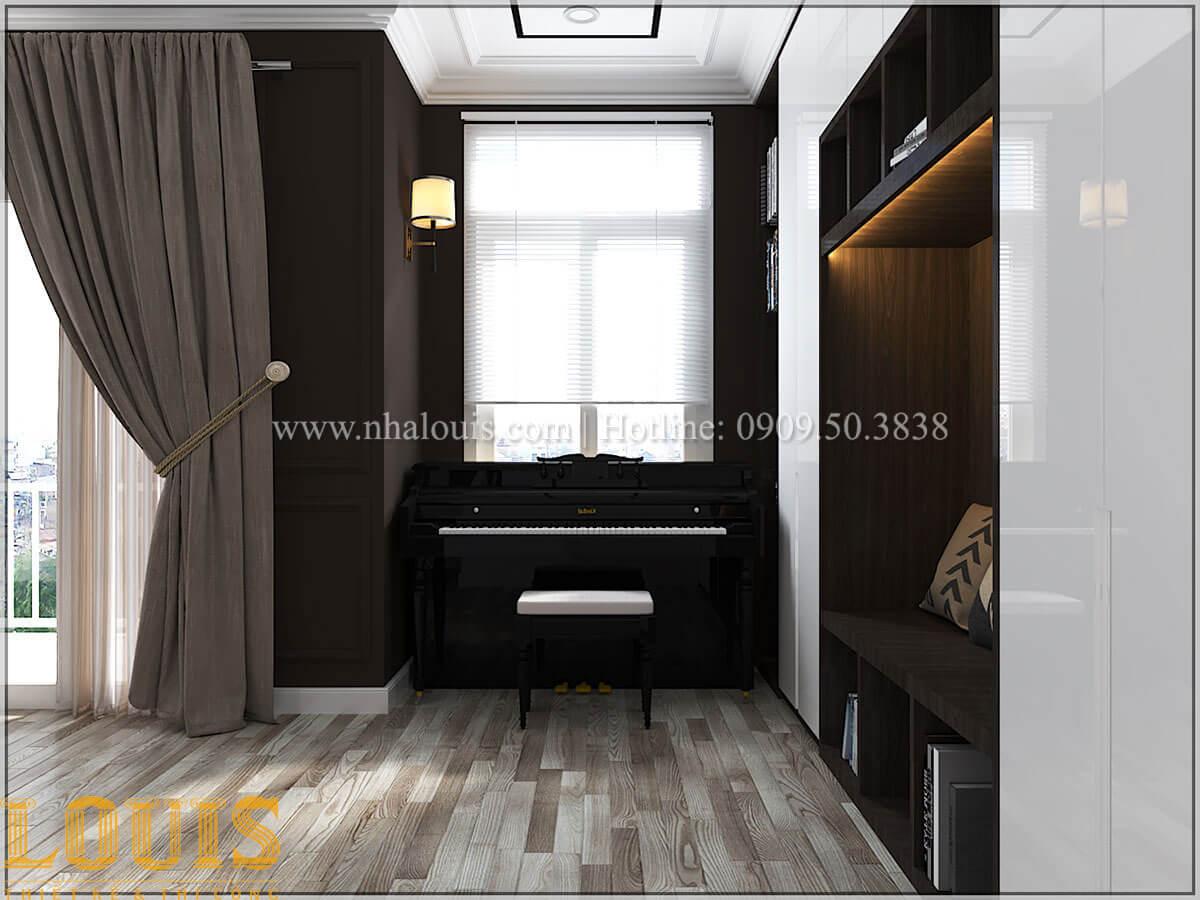 Phòng ngủ con trai Cải tạo nhà biệt thự phố cập nhật theo xu hướng mới tại Quận 10 - 42