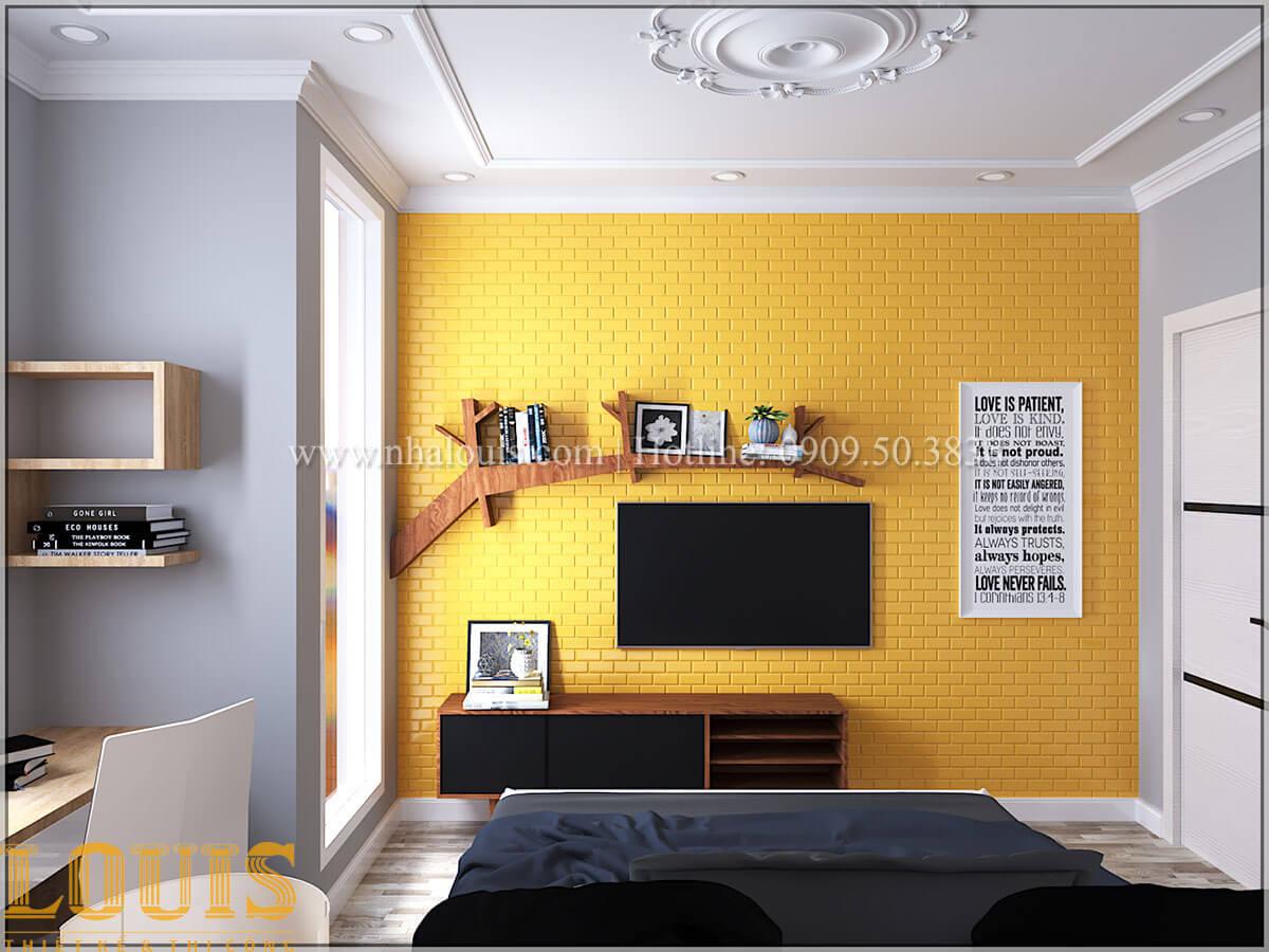Phòng ngủ cháu trai Cải tạo nhà biệt thự phố cập nhật theo xu hướng mới tại Quận 10 - 46