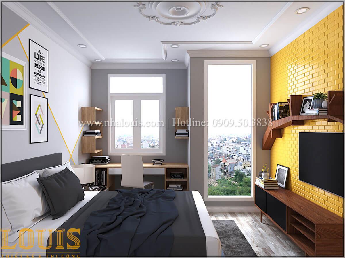 Phòng ngủ cháu trai Cải tạo nhà biệt thự phố cập nhật theo xu hướng mới tại Quận 10 - 48