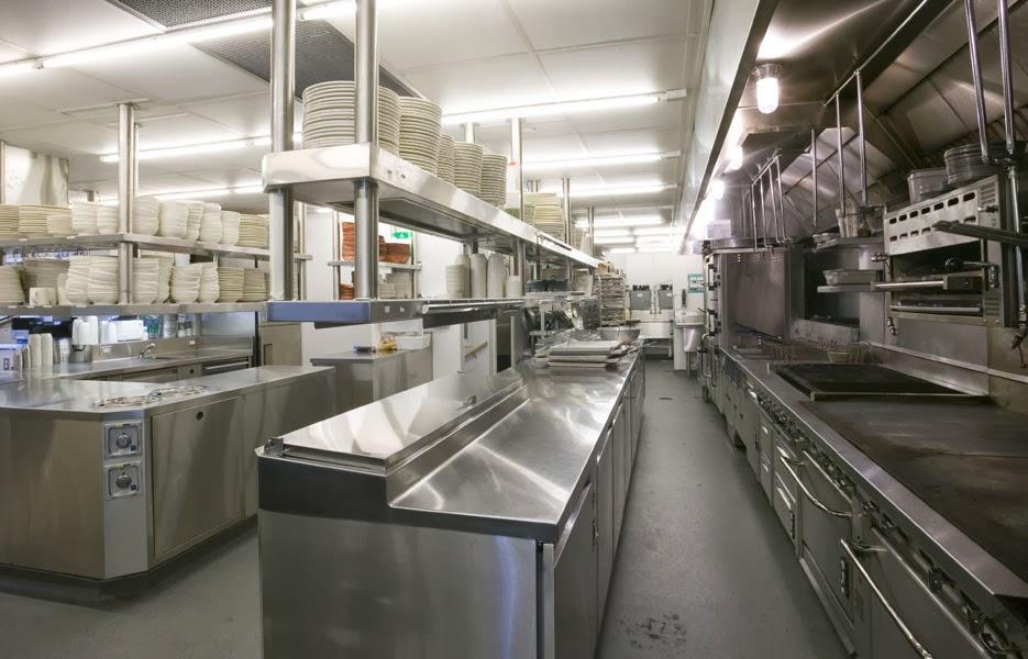 Nguyên tắc thiết kế phòng bếp khách sạn cổ điển đẹp chuẩn 5 sao