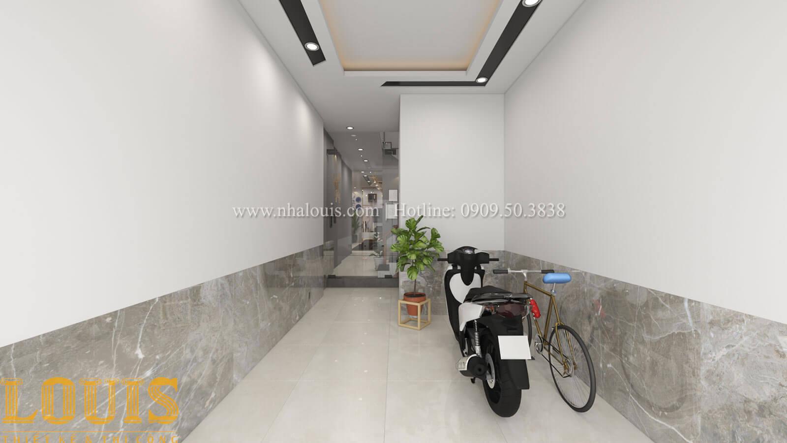 gara Mẫu nhà 5 tầng đẹp hiện đại với thiết kế tối giản tại Tân Bình - 09