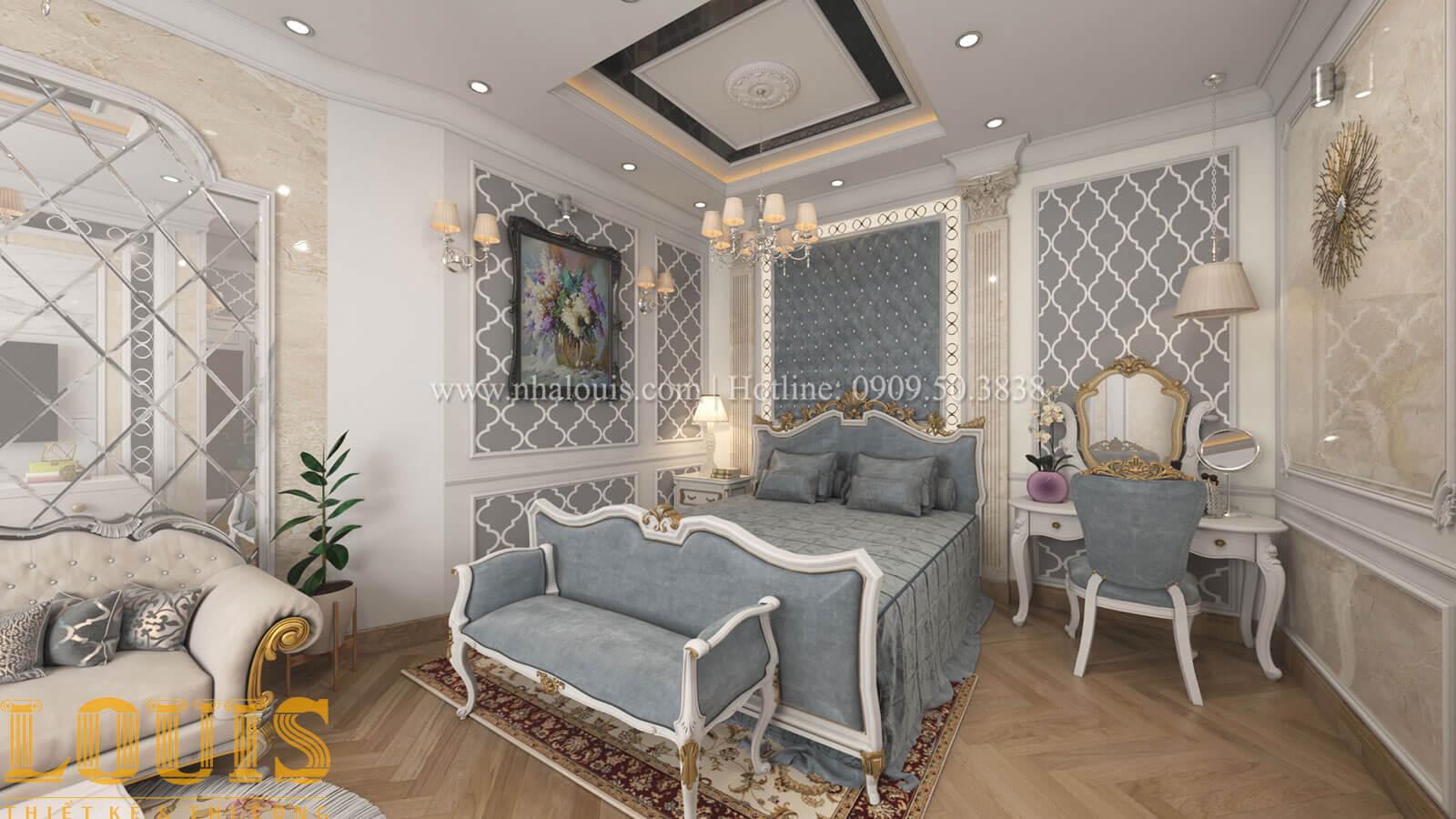 Phòng ngủ master Mẫu nhà 5 tầng đẹp hiện đại với thiết kế tối giản tại Tân Bình - 22